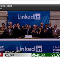 LinkedIn logra duplicar su valor en su debut en Bolsa