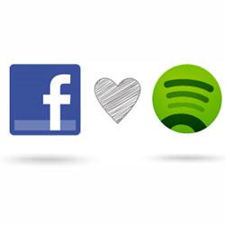 Facebook quiere integrar Spotify en su red