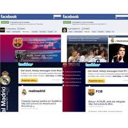 F.C. Barcelona y Real Madrid destacan en las en la estrategia de los clubes de fútbol españoles en redes sociales