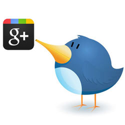 Twitter se rinde a los encantos de Google+