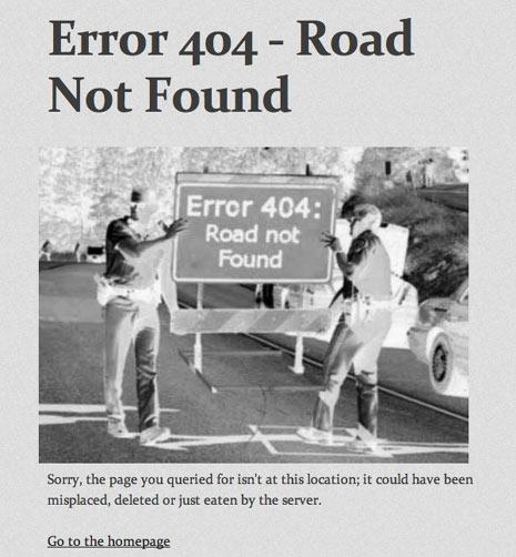 25 páginas de error 404 originales: cuando los fallos son creativos