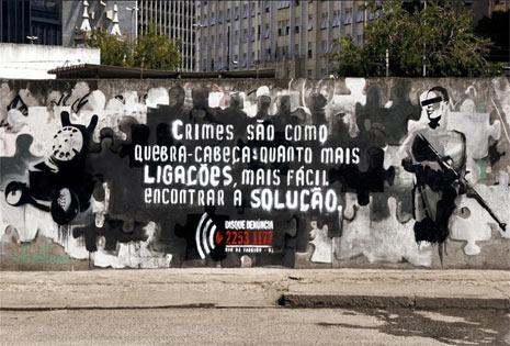 """15 asombrosos """"anuncios-grafitis"""": cuando la publicidad y el arte callejero se dan la mano"""
