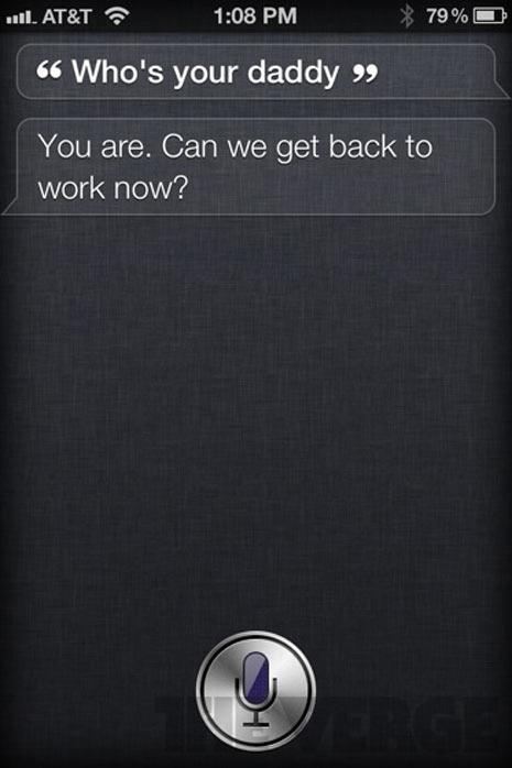 Siri, el asistente de voz del nuevo iPhone 4S, tiene un peculiar sentido del humor