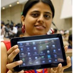 El gobierno indio lanza la tableta más barata del mundo