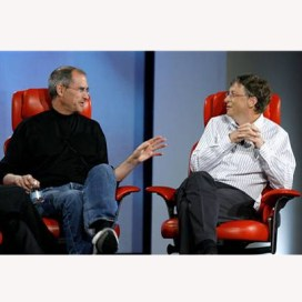 "Bill Gates escribe una carta de despedida a Steve Jobs: ""ha sido un honor"""