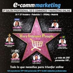 """""""Todo lo que necesitas para triunfar online"""", en la feria Ecomm-Marketing Madrid 2011"""