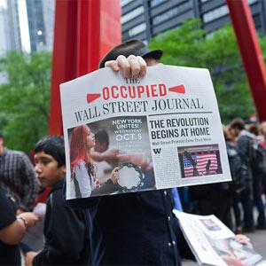 """Occupied Wall Street Journal: el periódico de los """"indignados"""" de Estados Unidos"""