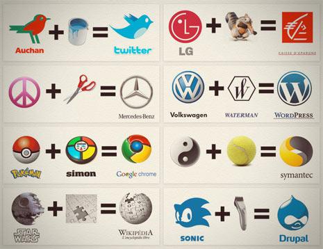 """La fórmula """"secreta"""" de los logos de 8 grandes marcas"""