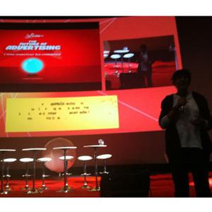 Gaby Castellanos (Sr. Burns) en #FOA2012: