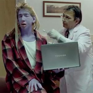 Toshiba levanta ampollas en la comunidad científica con su último anuncio, protagonizado por una cobaya humana