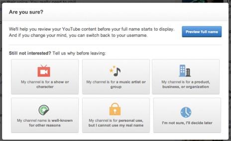 Google quiere que el usuario utilice su verdadera identidad en YouTube pero, ¿lo hará?