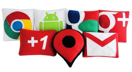 Google, Twitter y Facebook nos acompañan hasta en las horas de siesta en forma de almohada