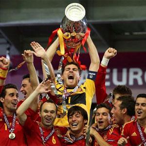 'La Roja' hace historia en el fútbol y en la televisión, donde congrega a una cifra récord de 15,5 millones de espectadores