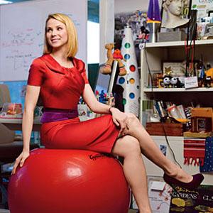La nueva y glamourosa CEO de Yahoo! no sabe la que se le viene encima...