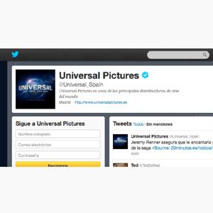Mindshare Spain impulsa las acciones publicitarias de Universal Pictures en medios sociales
