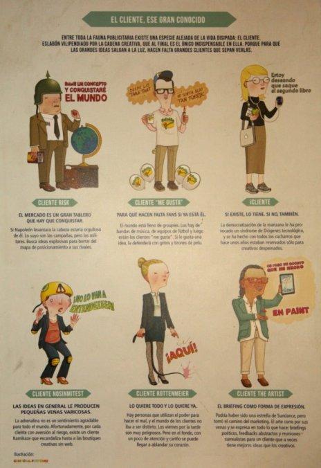 Los 6 tipos de clientes que rondan actualmente por las agencias de publicidad