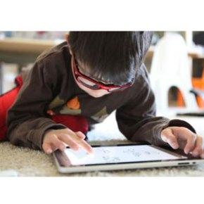 El iPad no es sólo cosa de adultos: los niños también lo utilizan para jugar o aprender