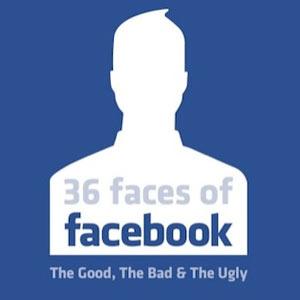 Los 36 rostros de Facebook: los buenos, los malos y los feos