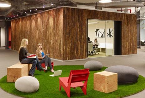 """Las 15 oficinas más """"chic"""" del universo tecnológico"""