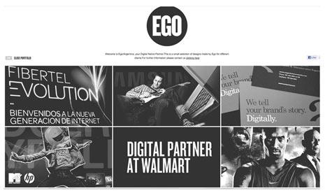 """22 ejemplos """"cool"""" de webs diseñadas en blanco y negro"""