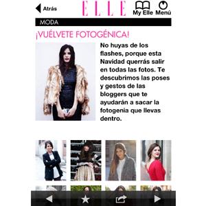 TAPTAP Networks desarrolla la nueva aplicación de la revista 'Elle' para España