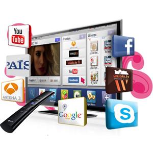 Sólo el 10% de las televisiones inteligentes se usa para navegar por internet