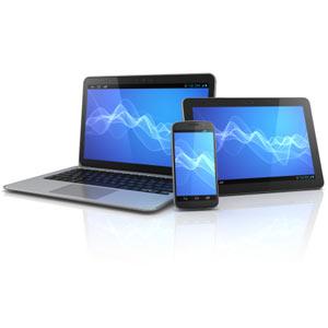 El número de accesos a internet a través de dispositivos móviles se multiplica casi por dos durante 2012
