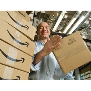 Amazon aumenta sus ingresos, disminuye sus beneficios y sus acciones se ponen por las nubes