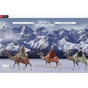 OgilvyOne pone en marcha el 'Gran Viaje de los Reyes Magos' hacia Barcelona