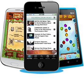 El gasto mundial en publicidad móvil se mantendrá con tasas de crecimiento de dos dígitos hasta 2016
