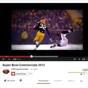 ¿Es buena idea colgar en YouTube los anuncios de la Super Bowl antes de su emisión?