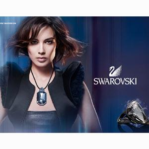 Swarovski apuesta por Bérénice Marlohe, la última chica Bond, para su nueva campaña