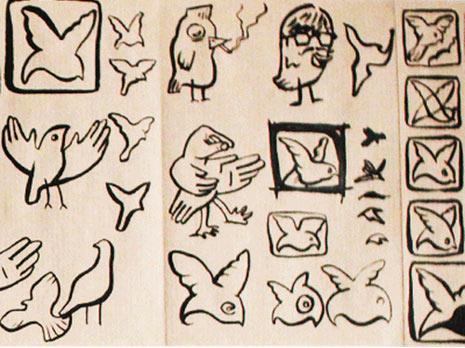 Así se gestó el icónico logotipo del pájaro de Twitter