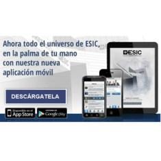 Todo el universo de ESIC, en su nueva aplicación para móviles
