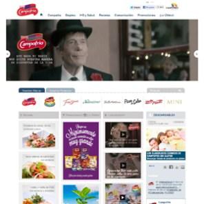 Campofrío presenta su nueva web con un interesante recetario a la medida del consumidor