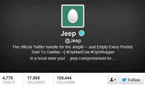 Los hackers se pusieron ayer las botas y atacaron a Jeep y a Apple, mientras que MTV se 'autohackeó'