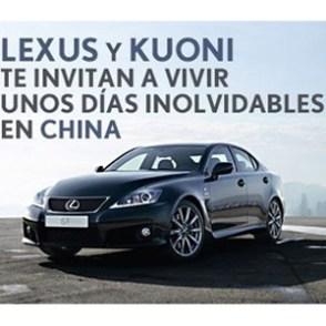 Lexus se alía con Kuoni e IT&VIP en dos acciones promocionales