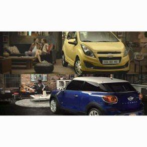 Un coche en el salón: el nuevo anuncio de Chevrolet recuerda mucho a un spot de Mini