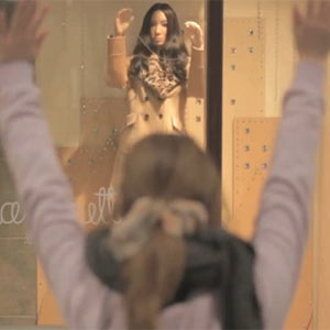 En Japón los maniquíes de los escaparates imitan los movimientos de los clientes