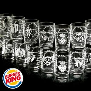 Burger King y la Liga de Fútbol Profesional presentan la nueva colección de vasos oficiales de la LFP