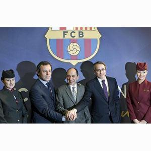 El Barça lucirá el logo de Qatar Airways en la camiseta partir de julio de este año