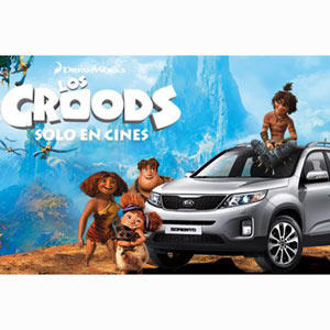 El nuevo modelo de Kia viaja a la prehistoria para encandilar a Los Croods