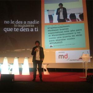 """G. Castellanos en #FOA2013: """"Importa la marca y el consumidor, pero lo más importante es lo que se crea entre ellos"""""""