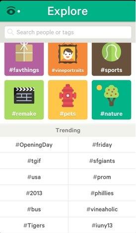 Los hashtag, ahora también en Vine