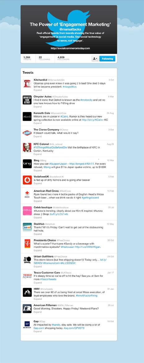 """Las 16 peores """"meteduras de pata"""" de marcas en Twitter"""