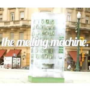 7UP crea una máquina expendedora de hielo que se derrite lentamente y ¡ofrece refrescos gratis!