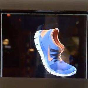 Los hologramas llegan a la publicidad exterior de la mano de Nike