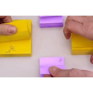 """Post-it despierta y persigue la """"gran idea"""" en un vídeo muy creativo"""