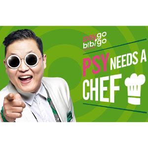 Psy busca cocinero en su última locura vía Youtube, que sepa cocinar es lo de menos
