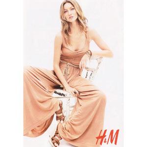 Tras Beyoncé será Gisele Bündchen quien ponga cara a H&M